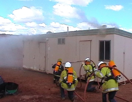 Fire Training Screenshot 1